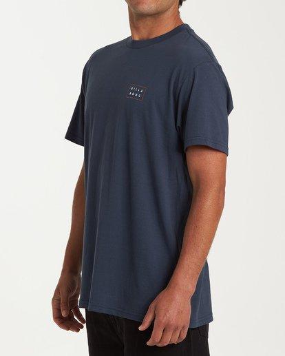 1 Diecut Short Sleeve T-Shirt Blue M404WBDC Billabong
