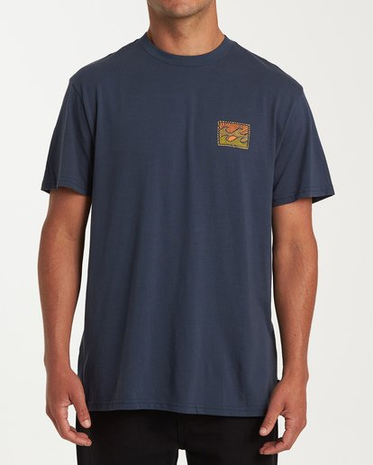 0 Dawn Patrol Short Sleeve T-Shirt Blue M404WBDP Billabong