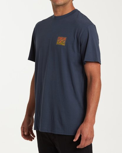1 Dawn Patrol Short Sleeve T-Shirt Blue M404WBDP Billabong