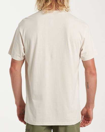2 Drainer Short Sleeve T-Shirt White M404WBDR Billabong