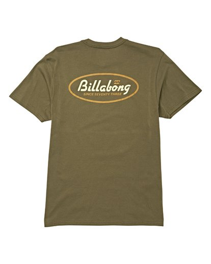 4 Falcon Short Sleeve T-Shirt Green M404WBFA Billabong