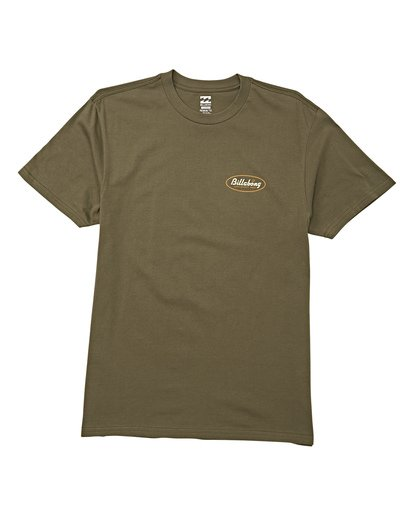 3 Falcon Short Sleeve T-Shirt Green M404WBFA Billabong