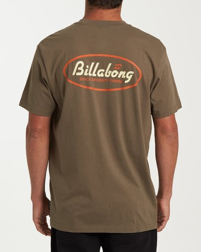 2 Falcon Short Sleeve T-Shirt Green M404WBFA Billabong