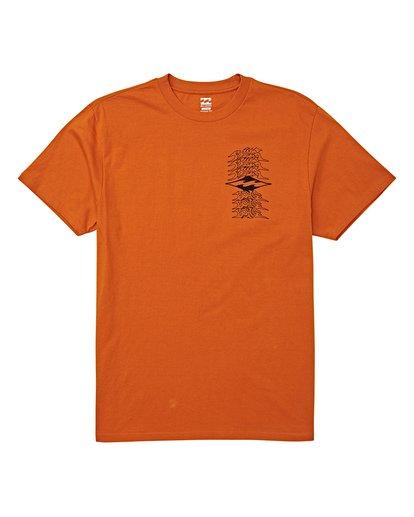 3 Filthy Short Sleeve T-Shirt Red M404WBFI Billabong