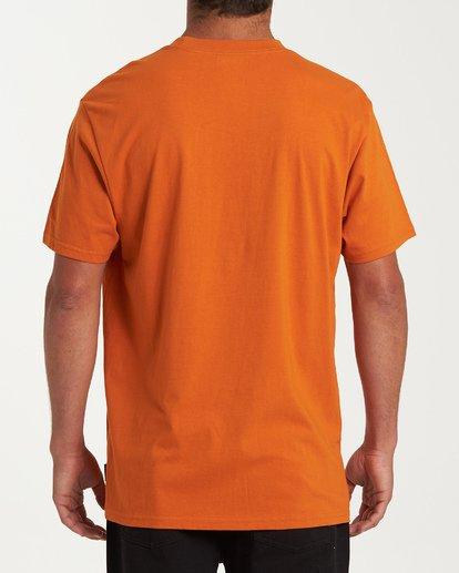 2 Filthy Short Sleeve T-Shirt Red M404WBFI Billabong