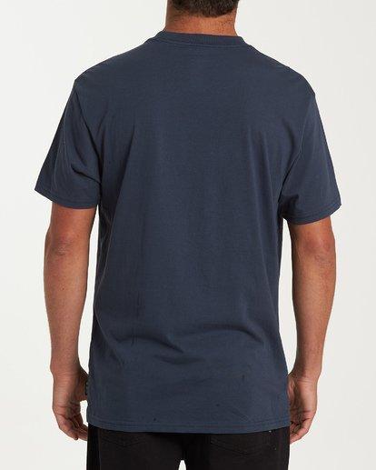 2 Fauna Short Sleeve T-Shirt Blue M404WBFU Billabong