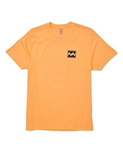 3 Fifty Wave Short Sleeve T-Shirt Grey M404WBFW Billabong