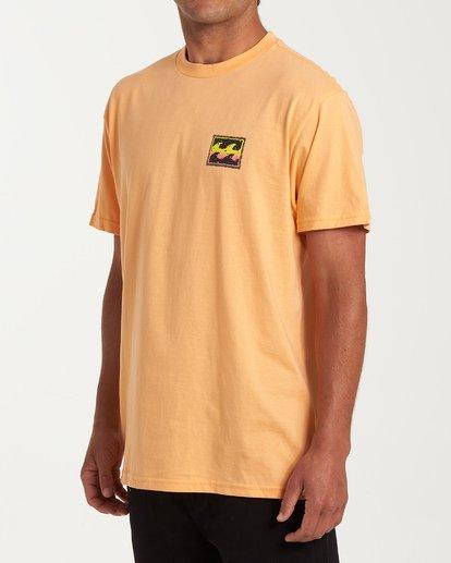1 Fifty Wave Short Sleeve T-Shirt Grey M404WBFW Billabong