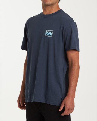 1 Fifty Wave Short Sleeve T-Shirt Blue M404WBFW Billabong
