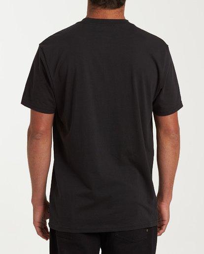 2 Waiting Room Short Sleeve T-Shirt Black M404WBHE Billabong