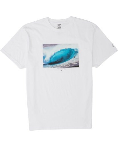 3 Last Day Short Sleeve T-Shirt White M404WBLD Billabong