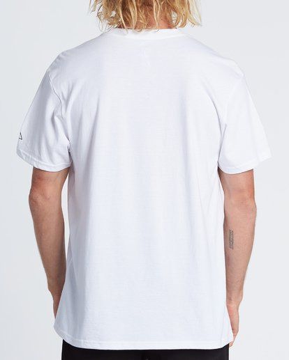 2 Last Day Short Sleeve T-Shirt White M404WBLD Billabong