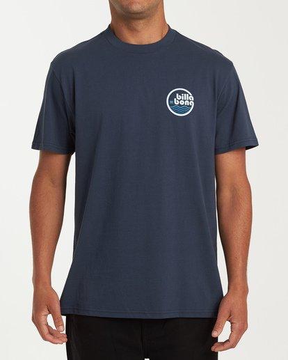 0 Lagoon Short Sleeve T-Shirt Blue M404WBLG Billabong