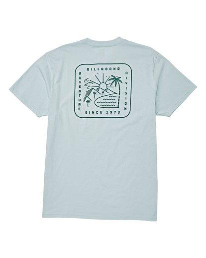 4 Matara Short Sleeve T-Shirt Brown M404WBMA Billabong