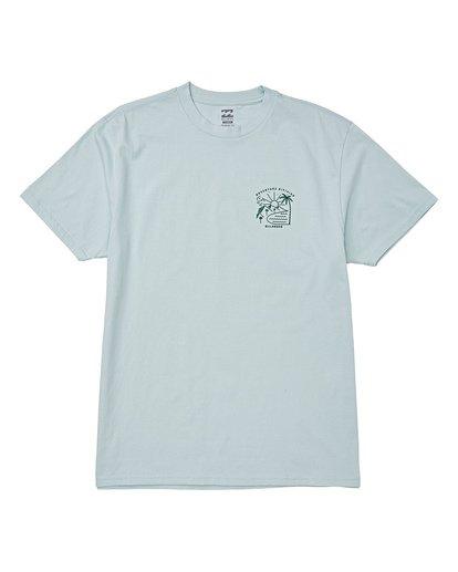 3 Matara Short Sleeve T-Shirt Brown M404WBMA Billabong