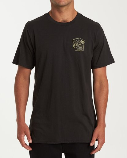 0 Matara Short Sleeve T-Shirt Black M404WBMA Billabong