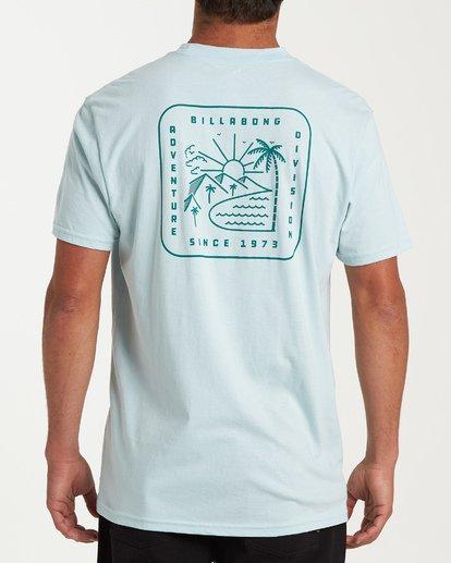 2 Matara Short Sleeve T-Shirt Brown M404WBMA Billabong
