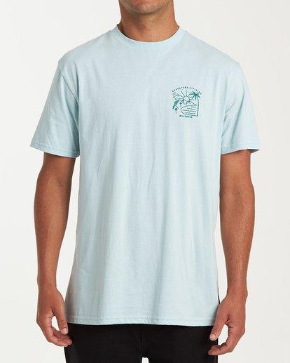 0 Matara Short Sleeve T-Shirt Brown M404WBMA Billabong