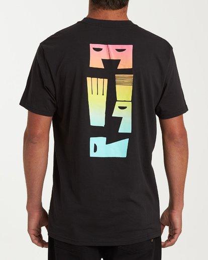 2 Dialogue Short Sleeve T-Shirt Black M404WBMR Billabong