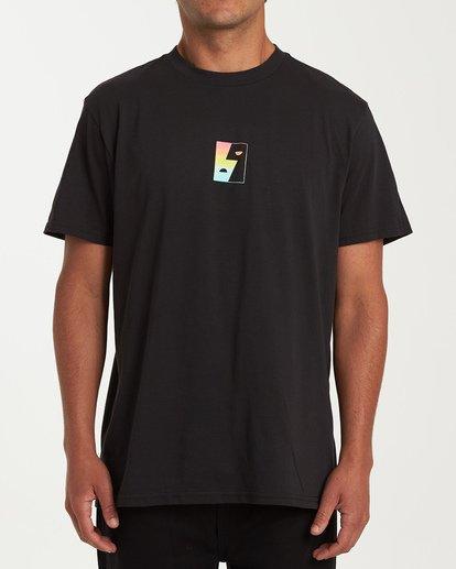 0 Dialogue Short Sleeve T-Shirt Black M404WBMR Billabong