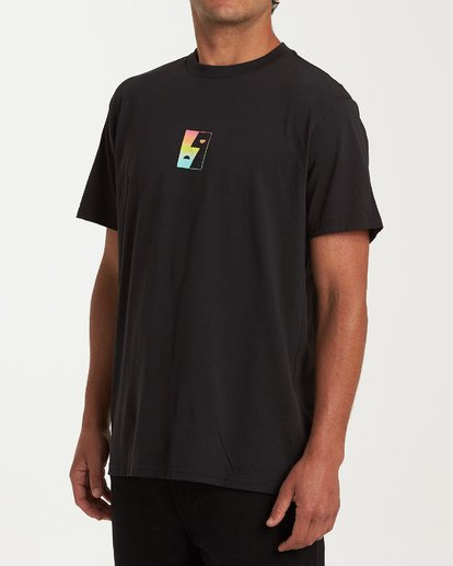 1 Dialogue Short Sleeve T-Shirt Black M404WBMR Billabong