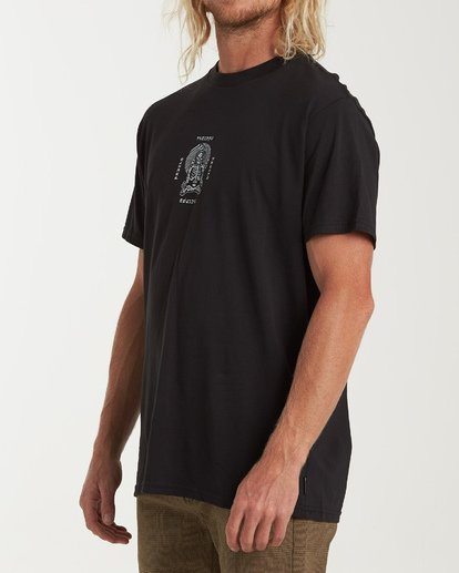 1 Psycho Therapy Short Sleeve T-Shirt Black M404WBPS Billabong