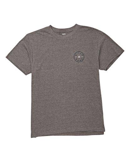 3 Rotor Short Sleeve T-Shirt Grey M404WBRO Billabong