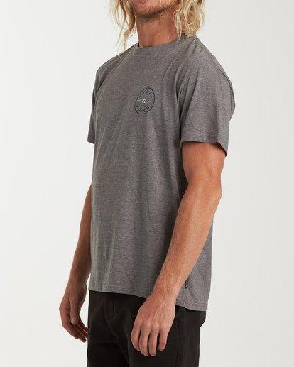 1 Rotor Short Sleeve T-Shirt Grey M404WBRO Billabong