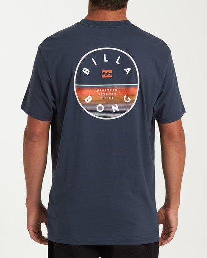 2 Rotor Short Sleeve T-Shirt Blue M404WBRO Billabong