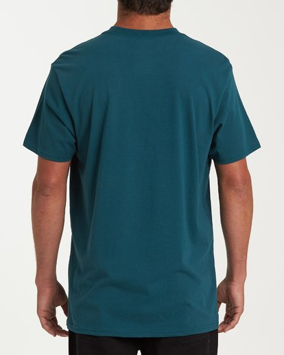 2 Stacked Short Sleeve T-Shirt Green M404WBSD Billabong