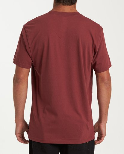2 Stacked Short Sleeve T-Shirt Red M404WBSD Billabong