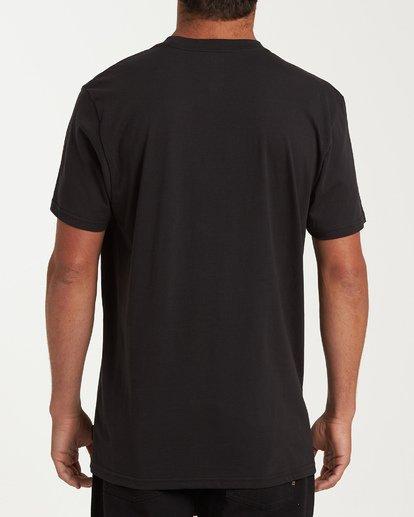 2 Stacker Short Sleeve T-Shirt Black M404WBSR Billabong