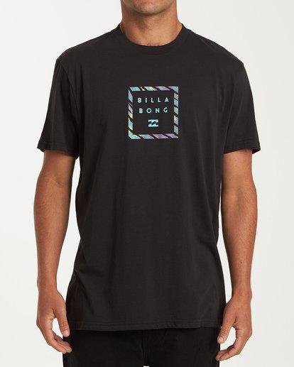 0 Stacker Short Sleeve T-Shirt Black M404WBSR Billabong