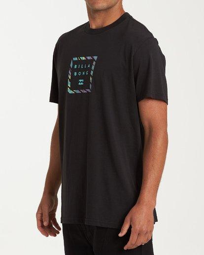 1 Stacker Short Sleeve T-Shirt Black M404WBSR Billabong