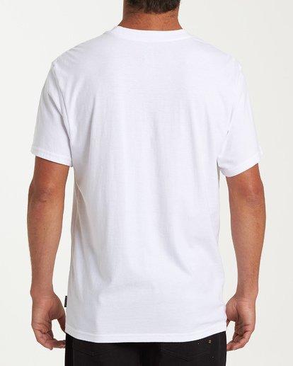 2 Stacker Short Sleeve T-Shirt White M404WBSR Billabong