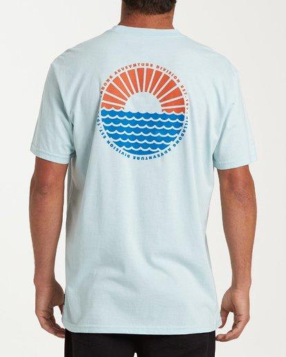 2 Sundown Short Sleeve T-Shirt Blue M404WBSU Billabong