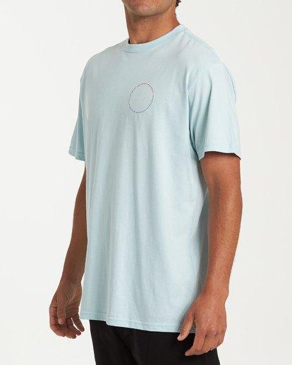 1 Sundown Short Sleeve T-Shirt Blue M404WBSU Billabong