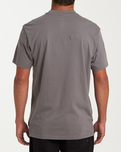 2 Team Wave Short Sleeve T-Shirt Grey M404WBTW Billabong