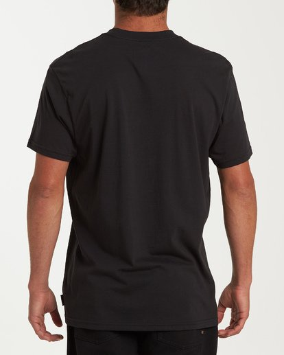 2 Union Short Sleeve T-Shirt Black M404WBUN Billabong