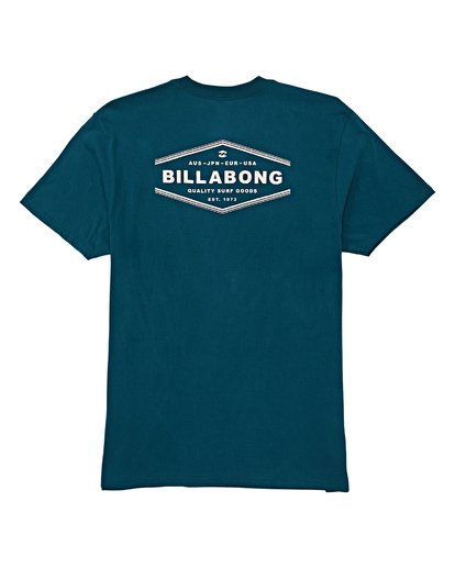 4 Vista Short Sleeve T-Shirt Green M404WBVI Billabong
