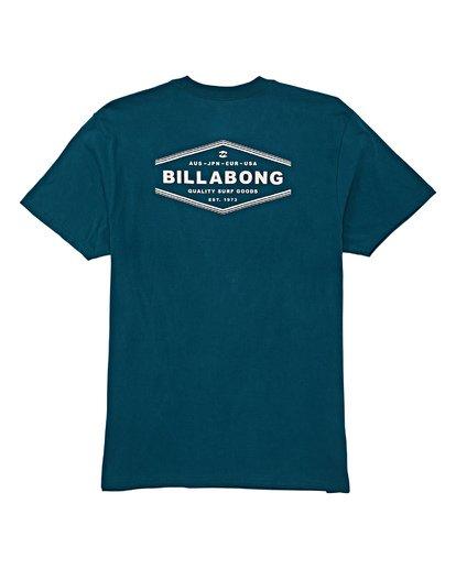 4 Vista Short Sleeve T-Shirt  M404WBVI Billabong