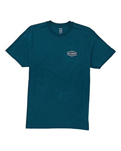 3 Vista Short Sleeve T-Shirt Green M404WBVI Billabong