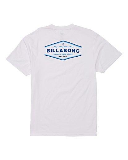 4 Vista Short Sleeve T-Shirt White M404WBVI Billabong