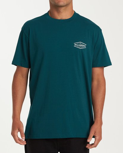 0 Vista Short Sleeve T-Shirt Green M404WBVI Billabong