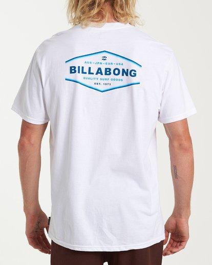 2 Vista Short Sleeve T-Shirt White M404WBVI Billabong
