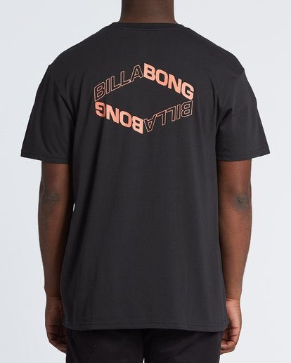 2 Vortex Short Sleeve T-Shirt Black M404WBVO Billabong