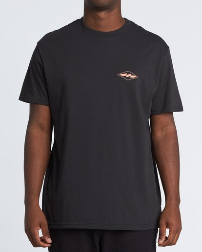 0 Vortex Short Sleeve T-Shirt Black M404WBVO Billabong