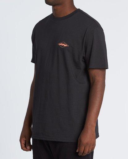 1 Vortex Short Sleeve T-Shirt Black M404WBVO Billabong