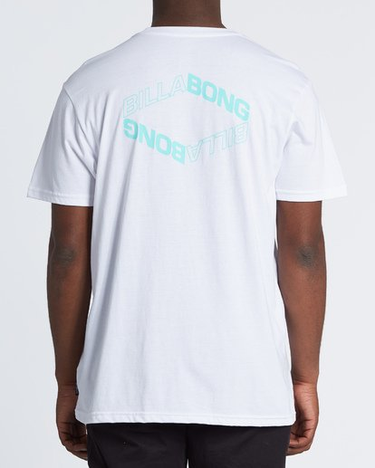 2 Vortex Short Sleeve T-Shirt White M404WBVO Billabong