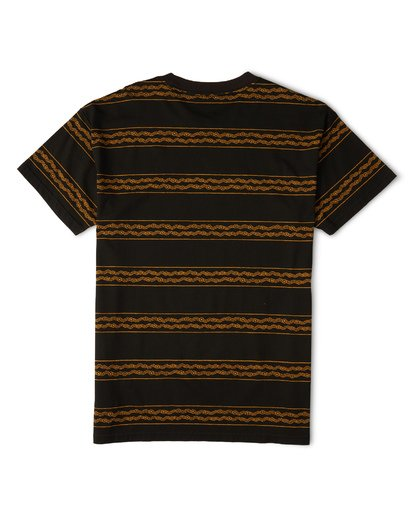 4 Tucker Stripe T-Shirt Black M404WBVR Billabong